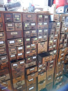 I need to find a reason why I need a card catalogue in my house, because I want one.