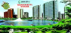 GaurCity 5th Avenue, sector-4 Greater Noida is a hallmark of affordable housingwhere you can live comfortably close to nature.