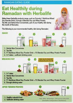 Herbalife Independent Distributor (Malaysia): Herbalife Nutrition: Ramadan Eating Guide