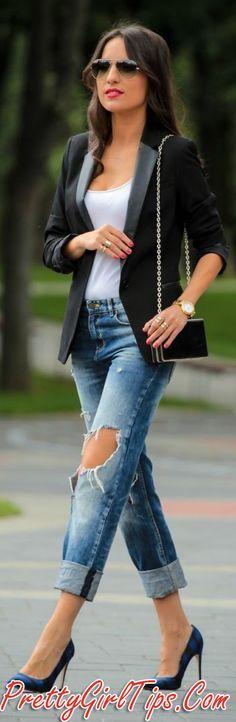 Bi Tone Black And Blue Pointy Toe Stilettos