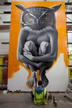 by Lonac, Zagreb #street art