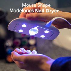 UV Lamp Nail Dryer USB Cable  #nail #gel #dryer #beauty #hacks