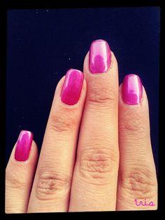 Magenta/cute nails