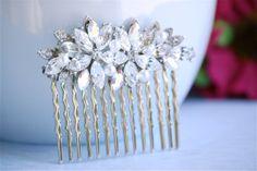 wedding hair comb hair comb art deco hair comb by BrideShop, $48.00