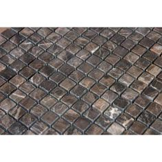 MS International Emperador Cafe 12 in. x 12 in. x 10 mm Tumbled Marble Mesh-Mounted Mosaic Tile-THDW1-SH-EMP5/8 - The Home Depot