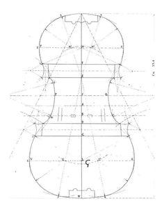 "Sacconi construction of Stradivari ""Grande"" violin mold"