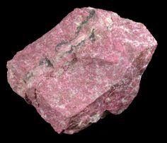 Clinozoisite var. Thulite from Tvedestrand, Aust-Agder, Norway
