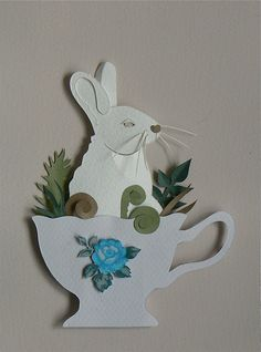 rabbit in a teacup :)