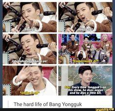 Poor Yongguk >.< B.A.P
