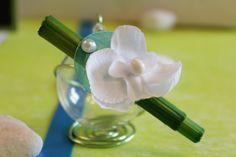 """Boule en verre - Décoration thème """"Zen & Orchidée"""""""