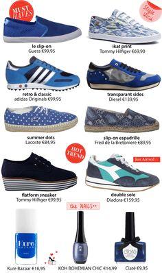 TREND - Blue Confidence: Trend Alert 2014 - Get That Shoe!