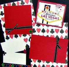 Las Vegas scrapbook page layouts | Add it to your favorites to revisit it later.