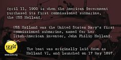 National Submarine Day -  #submarine #government #american #USSHolland #unitedstates #navy