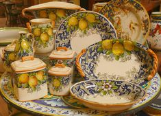 The Italian Pottery Outlet in Santa Barbara, CA. Amazing selection, great prices.