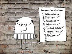 Innovationskultur to be Liste