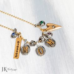 Remind your mom how special she is with this great custom necklace! JK by Thirty-One Thirty One Gifts! Join my FB. group,a place for my Customers and new future Customers! NO 31 Consultants please! Thanks https://www.facebook.com/groups/221123648035423/