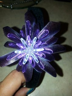 My new headband flowers