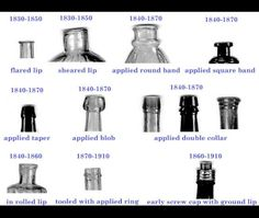 Antique Glass Bottle Dating