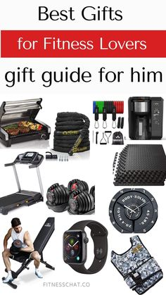 Here is a perfect gift guide with fitness gifts for men.