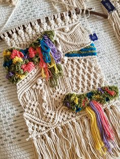 Indigo Knots & Collective specializes in handmade modern fiber art and bohemian macramé statement pieces designed to fill your home with warmth, texture, character, and dimension. A perfect piece for bohochic homes, floral and adventure theme nurseries or as a gift for macramé and