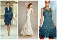 A roundup of free crochet dress patterns