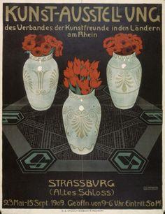 Kunst-Ausstellung; des Verbandes der Kunstfreunde in den Ländern am Rhein Strassburg... 23 mai-15 sept. 1909...H. Beecke