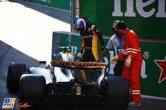 Jolyon Palmer, Formule 1 Grand Prix van Azerbeidzjan 2017, Formule 1