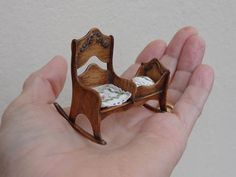 Doll House Miniature Artisan Victorian Vintage Style by LynnJowers, $75.00