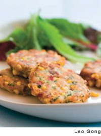 Corn and Cod Cakes by Joy Manning