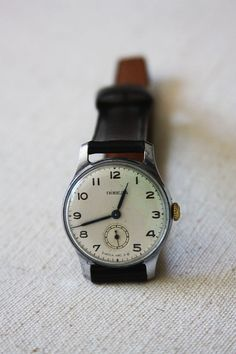 Vintage Soviet 'Pobeda' Watch. $110.00, via Etsy.