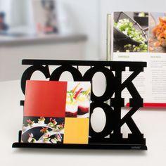Lutrin de Cuisine Métal Noir - Achat / Vente Porte Livre de Cuisine Noir - Porte Tablette Numérique Noir, fraisedesbois.com