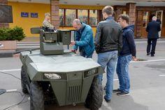 Бойова роботизована платформа «ЛАСКА», травень 2018