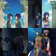 Sea Dragon Kanon / Gemini Saga