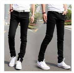2015-Wholesale-Fashion-Mens-Stretch-Korean-Slim-Fit-Jeans-Skinny-Pants-27-36