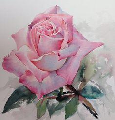 Нежные розы на картинах художника из Таиланда La Fe.. Обсуждение на LiveInternet - Российский Сервис Онлайн-Дневников