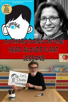 An Apple For The Teacher: A List of Authors Doing Virtual Story Time or Art Lessons Teaching Art, Student Learning, Kids Learning, Learning Spaces, Teaching Ideas, Art Lessons Elementary, Upper Elementary, Kindergarten Art Lessons, Art Education Lessons
