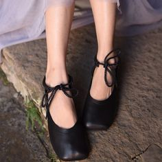 9b455888a Handmade Womens Sheepskin Leather Lace Up Low Heels Shoes