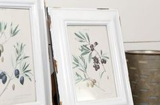 Distressed Enamel Photo Frames, Set of 2 | Chippy Farmhouse