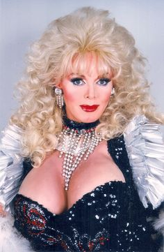 Christopher Morley, female impersonator extraordinaire, as Dolly Parton