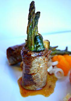 Negimaki roll, a great summery menu idea! by Peninsula Catering & Events, Inc.