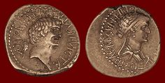 Antony + Cleopatra Coin from Bethsaida! | rogueclassicism