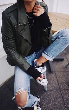 beautiful street style outfit