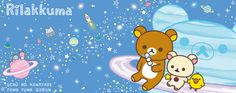 yayrilakkuma:  New rilakkuma theme! Once in Space.
