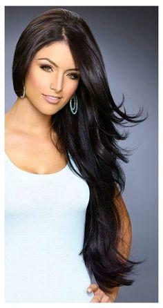eva marie hair color