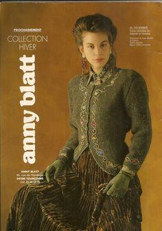 MAGAZINE ANNY BLATT N°126 tricot LES INTEMPORELLES : Autres Tricot et Crochet…