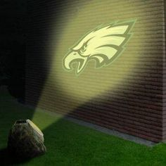 Philadelphia Eagles NFL Logo Projection Rock NEW FREE SHIPPING
