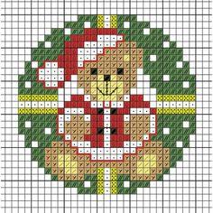Cross Stitch Christmas Ornaments, Xmas Cross Stitch, Cross Stitch Cards, Cross Stitch Borders, Cross Stitch Baby, Christmas Cross, Cross Stitch Designs, Cross Stitch Kits, Cross Stitch Patterns