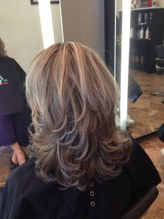 Layerd haircut