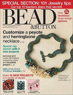 096 Bead & Button Magazine, 2010 April, #96 (Used) at Sova-Enterprises.com