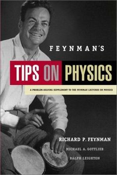 """Feynman discusses topics physics students often struggle with and offers valuable tips on addressing them."" http://jaspercat.manhattan.edu/cgi-bin/koha/opac-detail.pl?biblionumber=1156782"